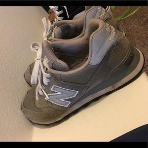 grey new balance 574